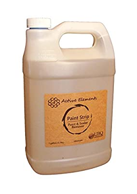 Paint Strip - 1 gal - Non-Hazardous Paint and Sealer Remover - Solvent and Water based materials