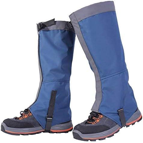シューズカバー 1ペア - レインブーツは防水ハイキングシューズは、耐久性に優れた、高通気性のフットカバーは、スキー登山狩猟を歩く男性と女性の子供山ハイキングをラップカバー 防風性と防水性 (Color : Orange, Size : Medium)