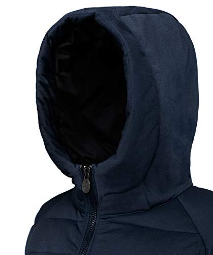 Poliamida Mujer Para 1076 Chaqueta 4432313 Invicta 50 Negro Oscuro De d Plumas Azul Poliéster RSx8FY