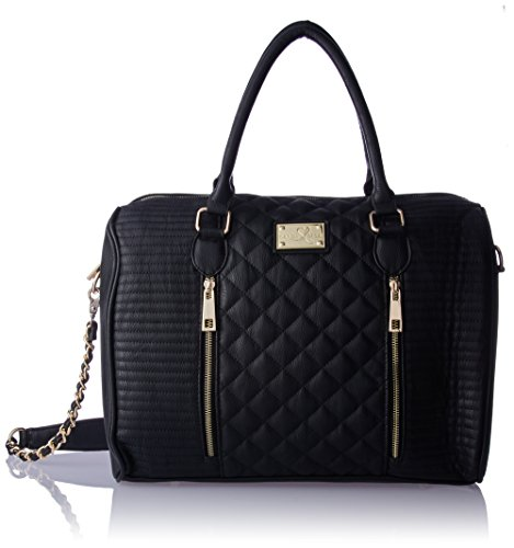 Quilted Zippered Fashion Tote - 7