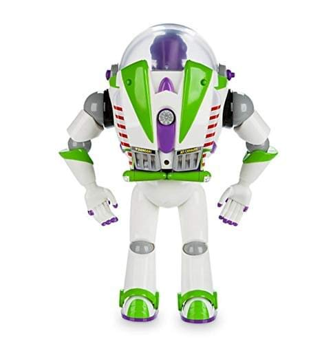 Disney Toy Story Power Up Buzz Lightyear Talking Action Figure Thinkway 2724444670732
