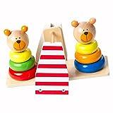 Fat Brain Toys Bear Balance - Balancing Bear Buddies