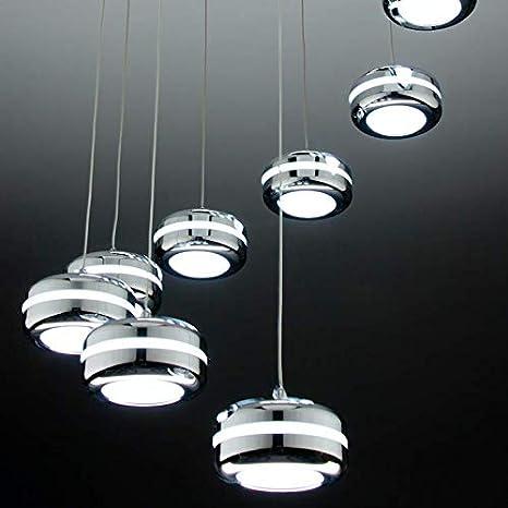 Plate 9 lámpara de techo LED diseño moderno: Amazon.es ...