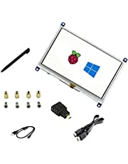5 inch LCD B Touch Screen Resistive HDMI interface 800 * 480 Win10 Supports Various Systems for Raspberry pi4/3B+/3B