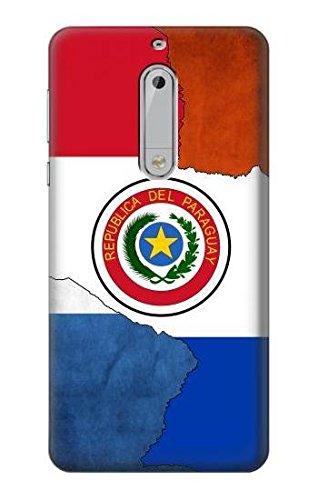 Innovedesire Paraguay Flag Funda Carcasa Case para Nokia 5 ...