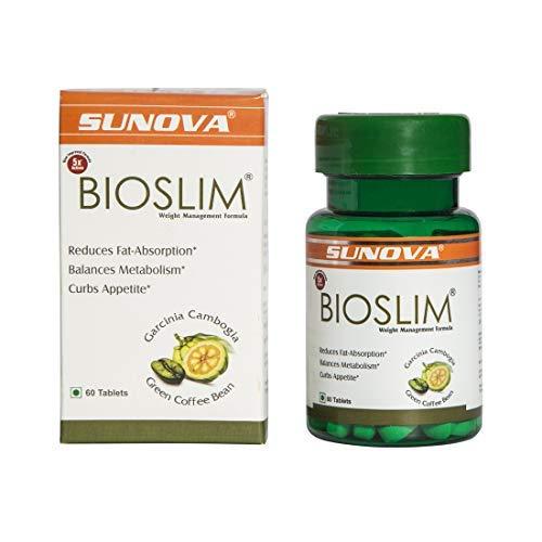 Sunova Bioslim (Garcinia Cambogia Extract and Green Coffee Bean Extract) – 60 Tablets
