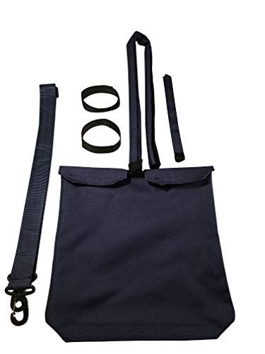 (Urine Drainage Bag Holder with Catheter Pipe Cover and Adjustable Strap)