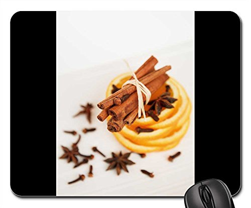 Price comparison product image Mouse Pads - Anise Aroma Aromatic Brown Christmas Cinnamon
