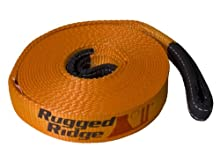"Rugged Ridge 15104.04 1"" x 15' 10,000lb Recovery Strap"