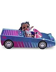 LOL Surprise Dance Machine Car med exklusiv docka, överraskningspool, dansgolv och magi svart ljus - flerfärgad dockbil, för flickor i åldrarna 4+