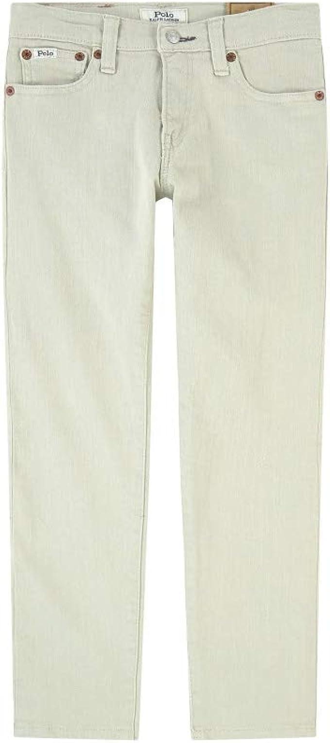 Polo Ralph Lauren Boys Sweatpant Lined Pants Khaki Beige