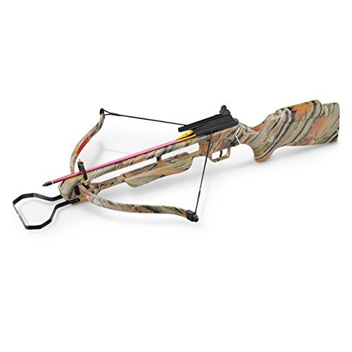 MTech USA MC-DX200AC Crossbow Kit with 2 Arrows, Camo, 150-Pound Draw Weight