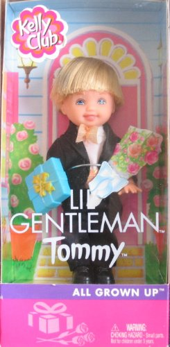 All Grown Up Toys : Barbie kelly lil gentleman tommy doll groom all grown