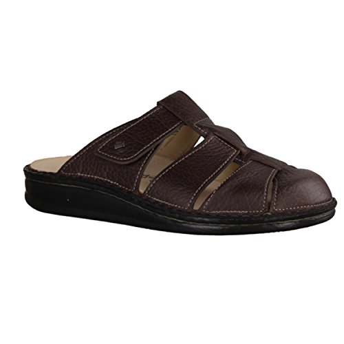 Finn Comfort Osuna- Herrenschuhe Sandale / Pantolette, Braun, leder (phoenix)