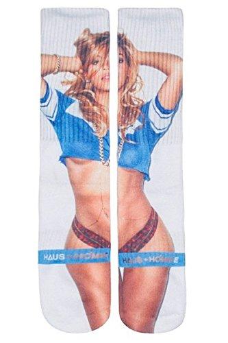 Haus+Homme Beyonce Unisex Printed Long 1 Pair Socks-Beyonce-OS