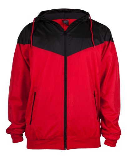 "Urban : ""Arrow Windrunner"" Size: M, Color: red-black …TB148"