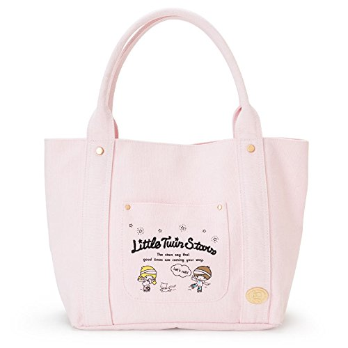 Sanrio Little Twin Stars canvas tote bag roller skating From Japan New by SANRIO
