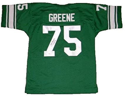 225fc44b5 Joe Greene Autographed Jersey - Mean Unt North Texas  75 Throwback - JSA  Certified -