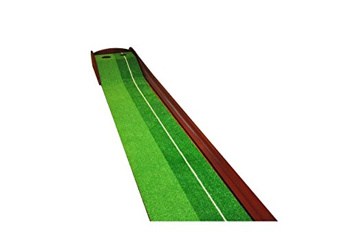 GOLF PUTTING MAT - PREMIUM WOODEN PUTTING GREEN - MINI GOLF by Everyday golf aids (Image #4)