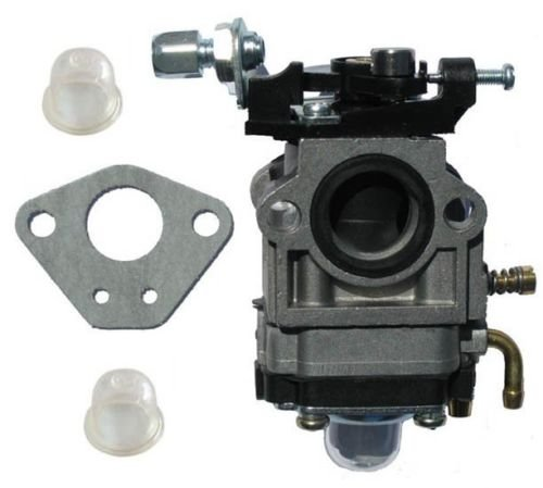 43cc, 49cc Carburetor (15mm) w/Gasket & 2 primer bulbs for Scooter, Pocket bike by WhatApart