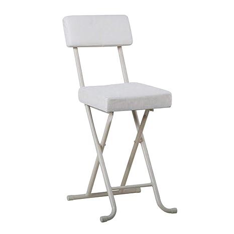 Astounding Amazon Com Home Folding Stool Portable 20 Inch Padded Bralicious Painted Fabric Chair Ideas Braliciousco