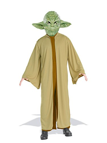 Rubie's Costume Co Yoda Costume - One Size/Standard, Multicolor -
