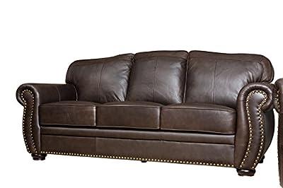 Abbyson®®®®®®®® Palaza Leather Armchair