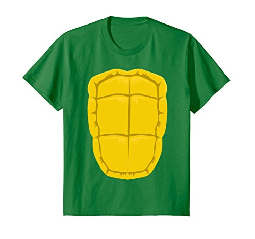 Kids Funny Turtle Shell Halloween Costume Shirt Gift Clever DIY 8 Kelly - Diy Turtle Costume