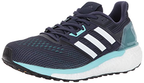 adidas Performance Women's Supernova w Running Shoe, Noble Ink/White/Energy Aqua, 10 Medium US