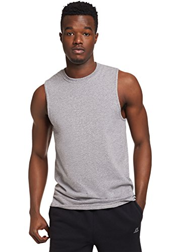 Russell Athletic Men's Essential Muscle - Russell Tee Shirts Athletic