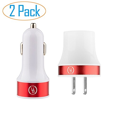 yubi-power-car-and-wall-charger-21a-dual-usb-car-charger-with-24a-dual-wall-charger-red