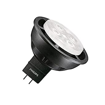 Lámpara LED GU5.3 MR16 Regulable Master 12V SpotLV VLE 6.3W 36º Black Blanco Neutro 4000K efectoLED