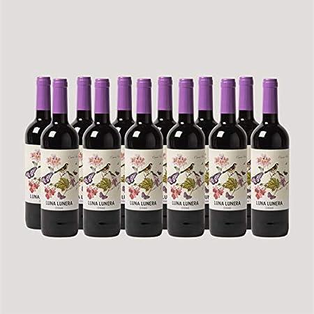 Caja de 12 botellas de vino Luna Lunera Syrah - Tempranillo