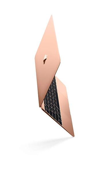 Apple MacBook (12-inch, 1.3GHz Dual-core Intel Core i5, 8GB RAM, 512GB SSD) - Gold at amazon