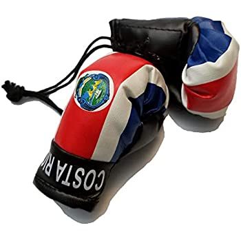 Trinidad Boxing Glove Banner Flag  Keychain Trini Car Headrest Cover