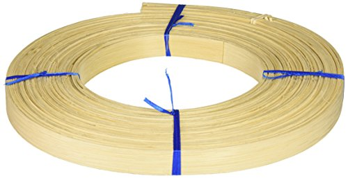 Commonwealth Basket Flat Reed, 7/8-Inch 1-Pound Coil, Approximately 80-Feet (1 Basket Inch Reed)