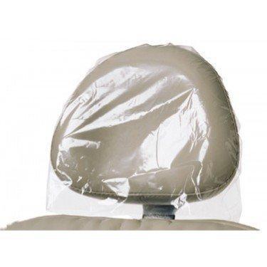 3D Dental PL-HRSM Headrest Cover, Poly, 11'' x 10'' (Pack of 250)