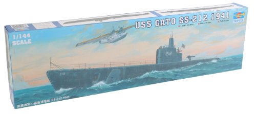 Trumpeter 1/144 USS Gato SS212 Submarine 1941 Model Kit
