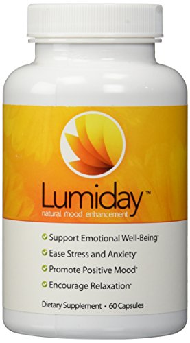 Lumiday Natural Mood Enhancement Dietary Supplement, 60 Capsules