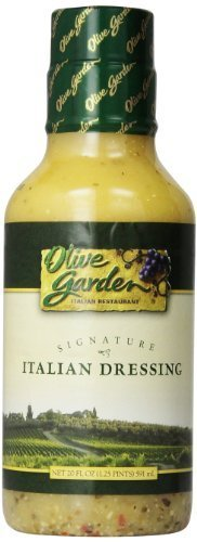 Garden Herbs Salad Dressing - Olive Garden Signature Italian Salad Dressing, 20 Ounce (Pack of 2)