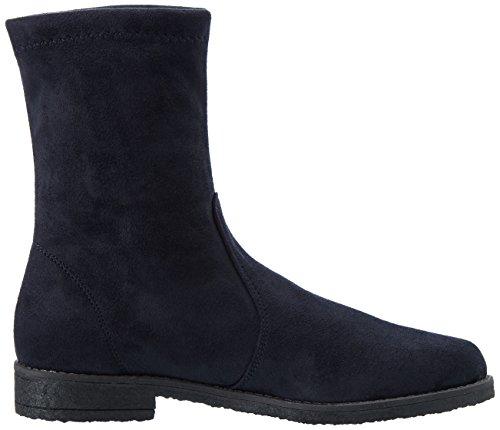 Nr Rapisardi Damen G101 Biker Boots Blau (blu Marino Camosci)