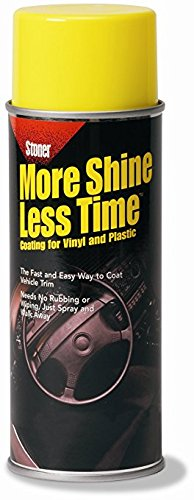 Stoner Car Care 91053 More Shine Less Time Protectant – 9-Ounce