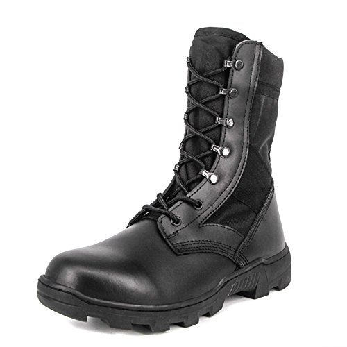 Combat inch Shoes Boots Black Milforce Speedlace Men's Tactical 9 Jungle Military Lightweight wAczaExq