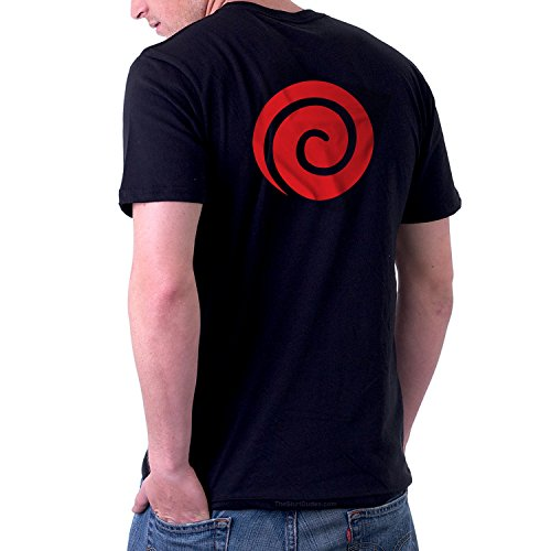 The Dude Halloween Costume Ideas (TheShirtDudes Uzumaki Clan Naruto - Adult T-Shirt for Anime Cosplay)