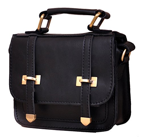 Pinklily Women's Attractive Shoulder Satchel Bag Black One Size
