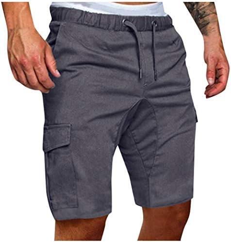 [해외]Meigeanfang 캐주얼 멀티 포켓 남성용 여름 짧은 트렁크 패션 단색 포켓 조깅 스포츠 바지 / Meigeanfang 캐주얼 멀티 포켓 남성용 여름 짧은 트렁크 패션 단색 포켓 조깅 스포츠 바지