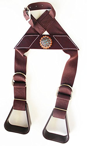 - Horse Saddle Western Show Buddy Stirrups Kids Child Youth Pony Rodeo 5138CO224