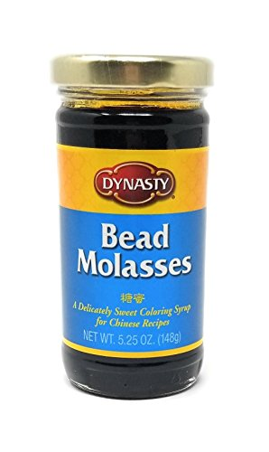 Dynasty Bead Molasses, 5.25-Ounce Jars (Pack of 4) ()