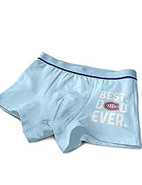 Best Dad Ever Montreal Canadiens Boys Cotton Boxer Briefs Underwear