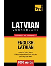 Latvian vocabulary for English speakers - 9000 words